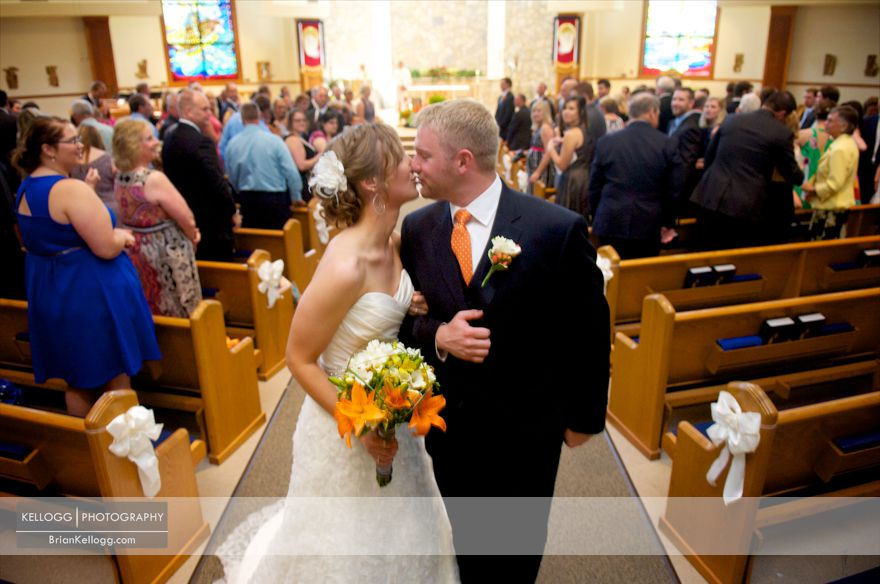 St. Peter Catholic Church Wedding Photos