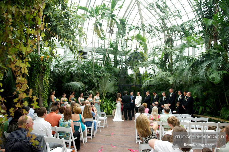 Franklin Park Conservatory Wedding Venue