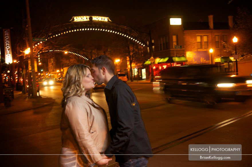 Short North Engagement Photos