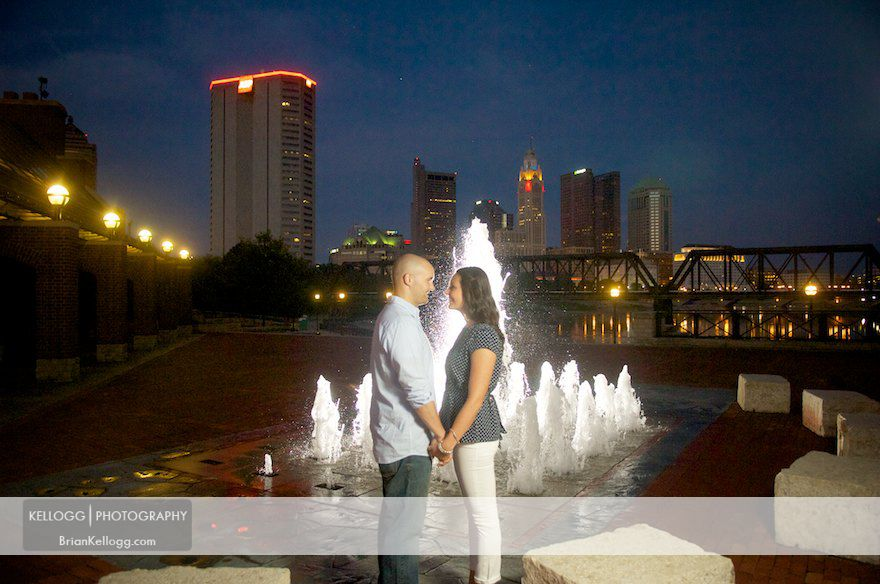 Columbus Ohio Engagement Photos