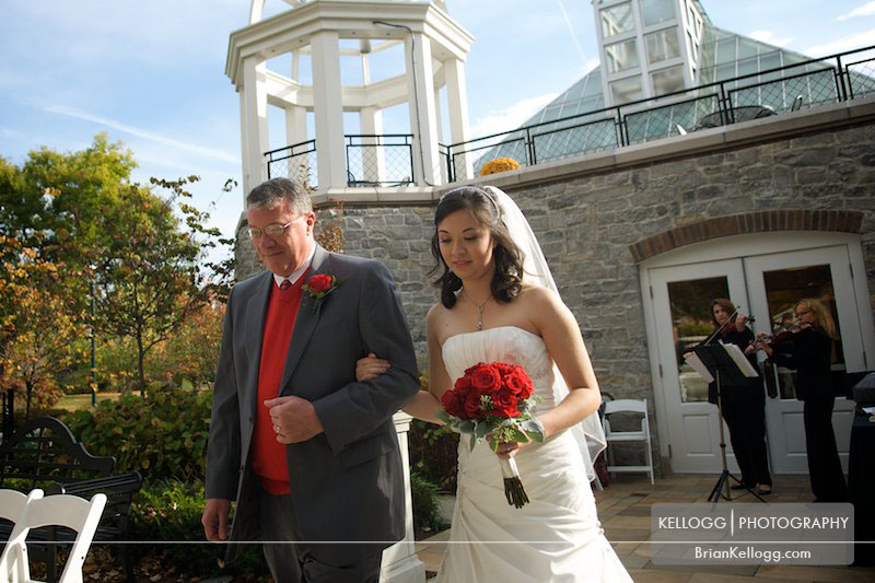 Franklin Park Conservatory Wedding