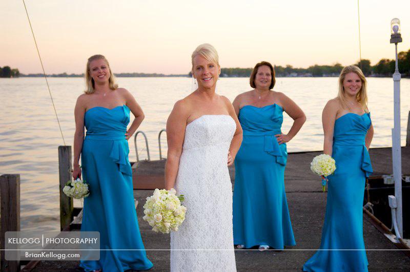 Buckeye Lake Yacht Club Wedding
