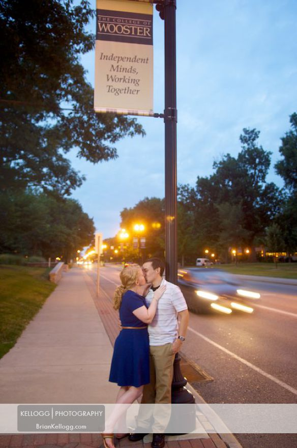 Wooster Engagement Photo