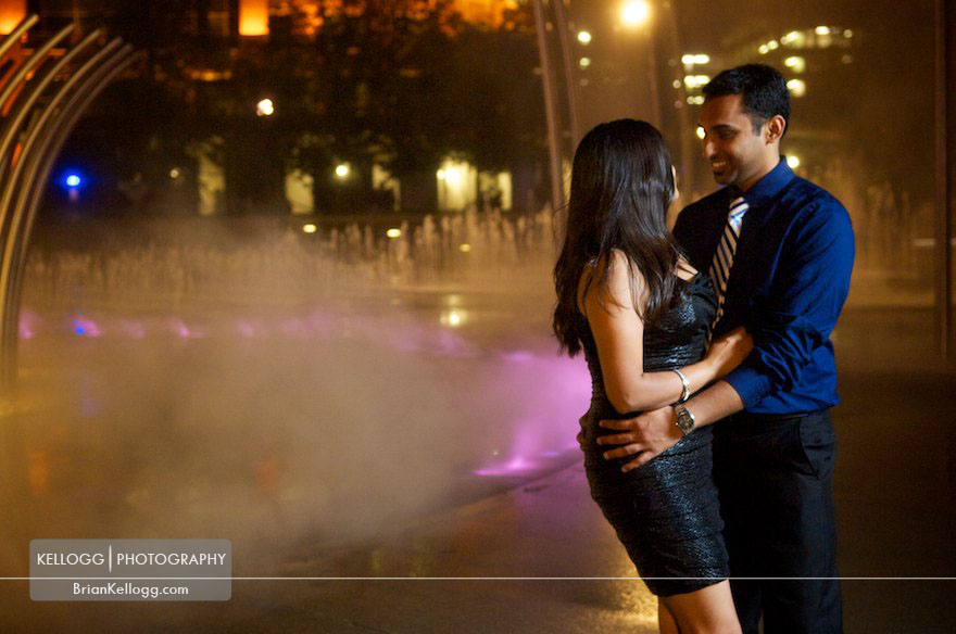 Scioto Mile Engagement Photos