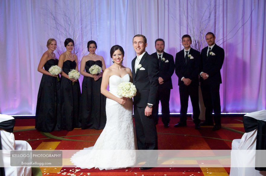 Renaissance Hotel Wedding Photos