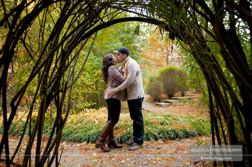 Fall Engagement Photo Columbus Ohio