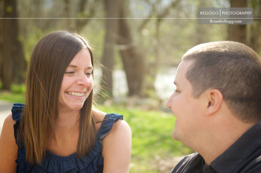 Creekside Engagement Photo Session