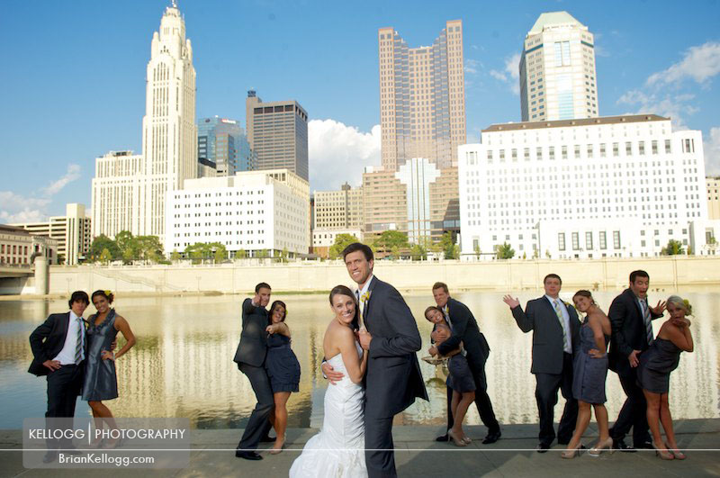 erica and adams wedding at the renaissance hotel