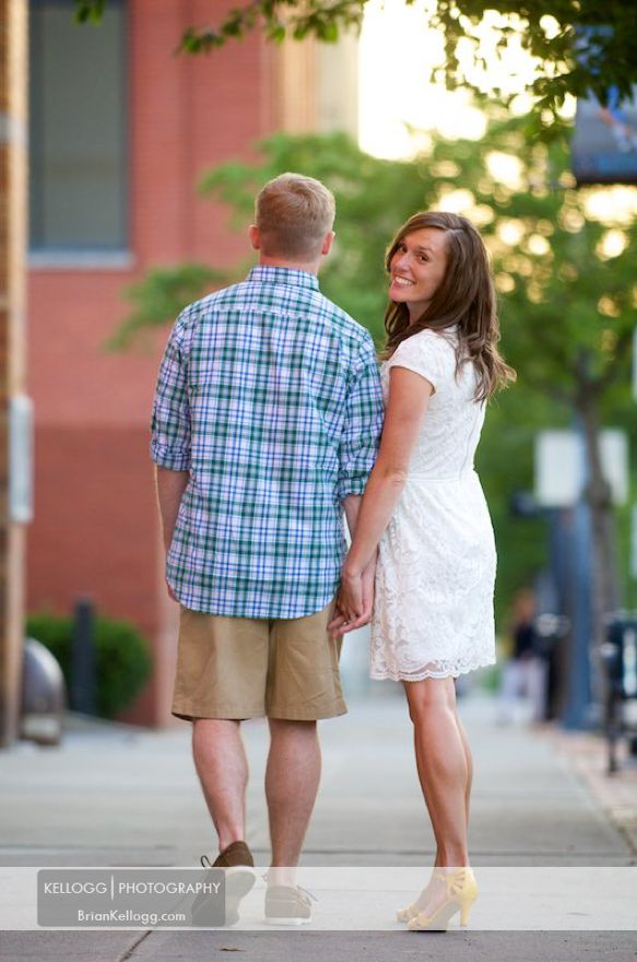 Alum Creek Lake Engagement