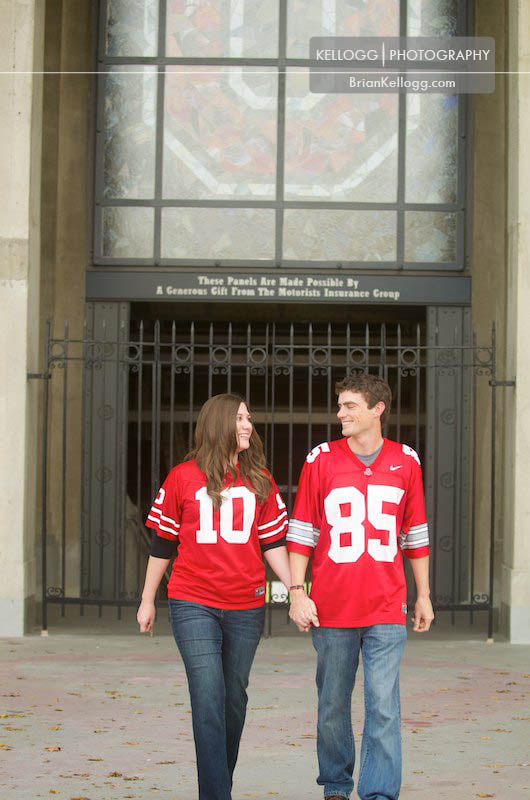 Ohio State University Engagement Session