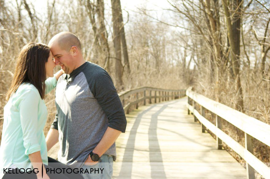 Creekside Engagement Photos