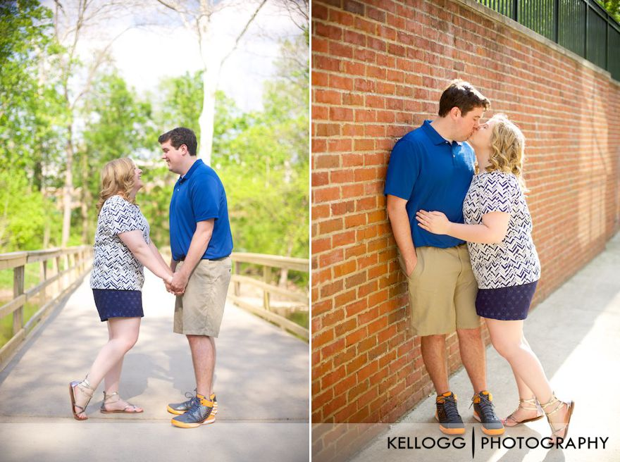Creekside Engagement Photography