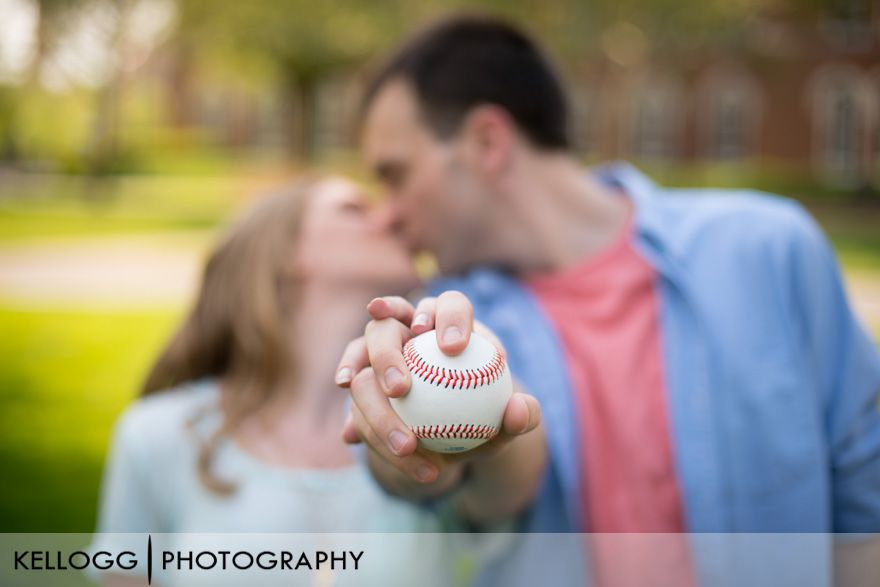 Ohio State University Engagement Photography