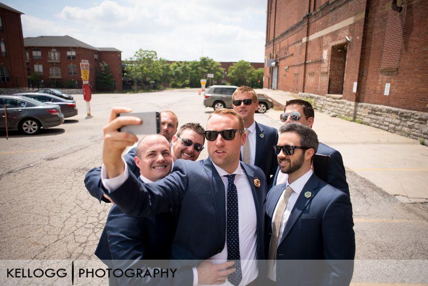 Groomsmen Selfie