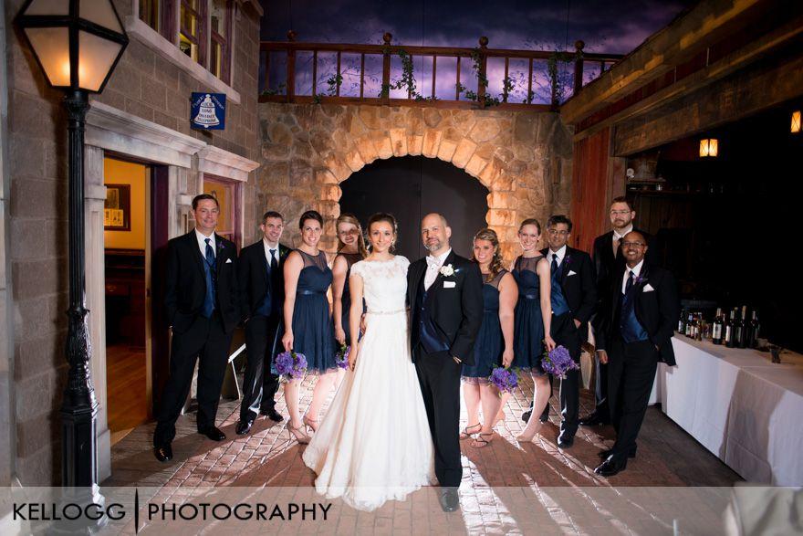COSI Planetarium Ohio Wedding
