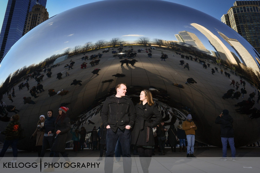 Engagement Session Cloud Gate Chicago