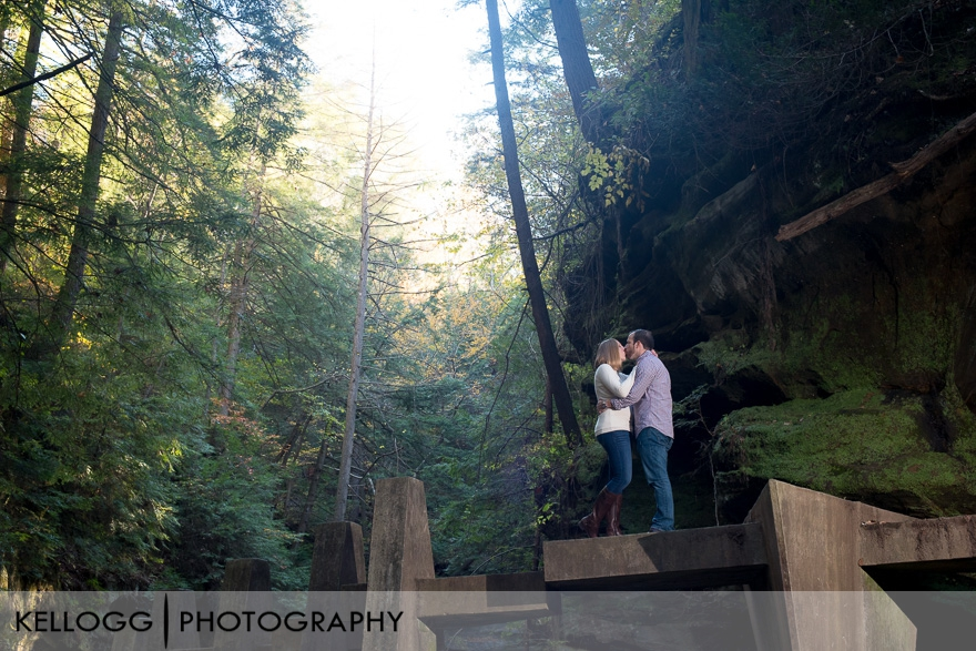 Olds Mans Cave Engagement Photography