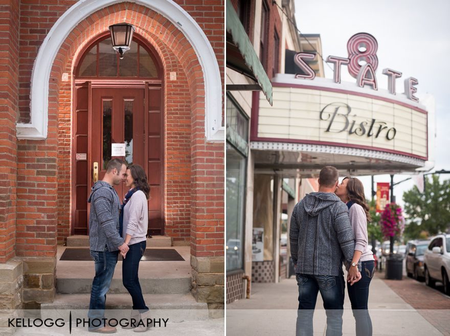 Westerville Engagement Photo