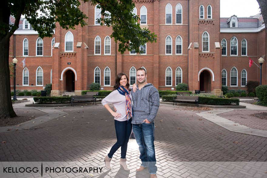Otterbein Engagement Photo