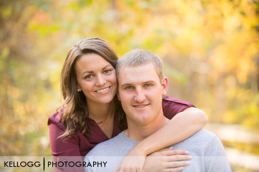 Hayden Run Falls Engagement