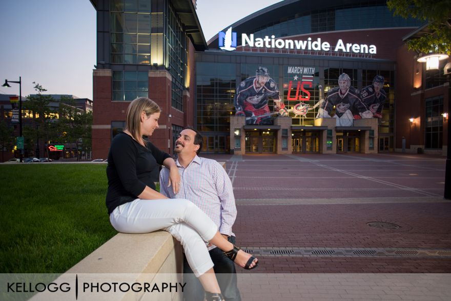 Columbus Engagement Photo