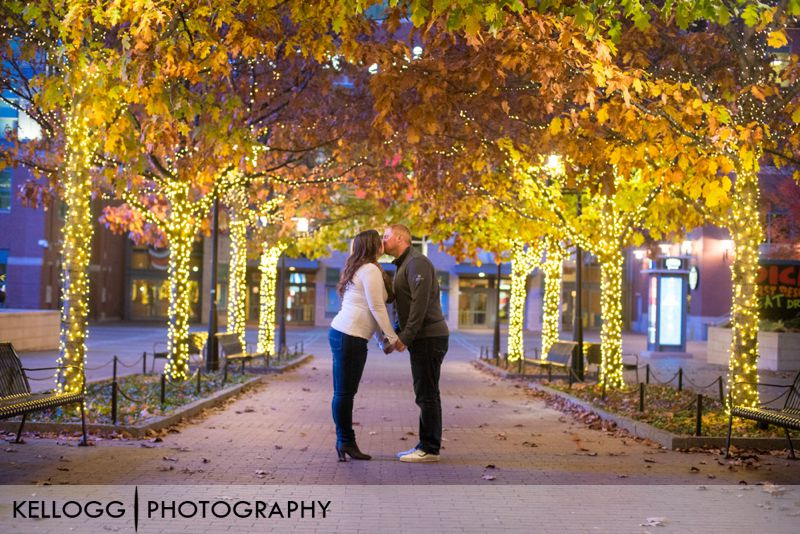 Columbus Arena District Engagement Photos