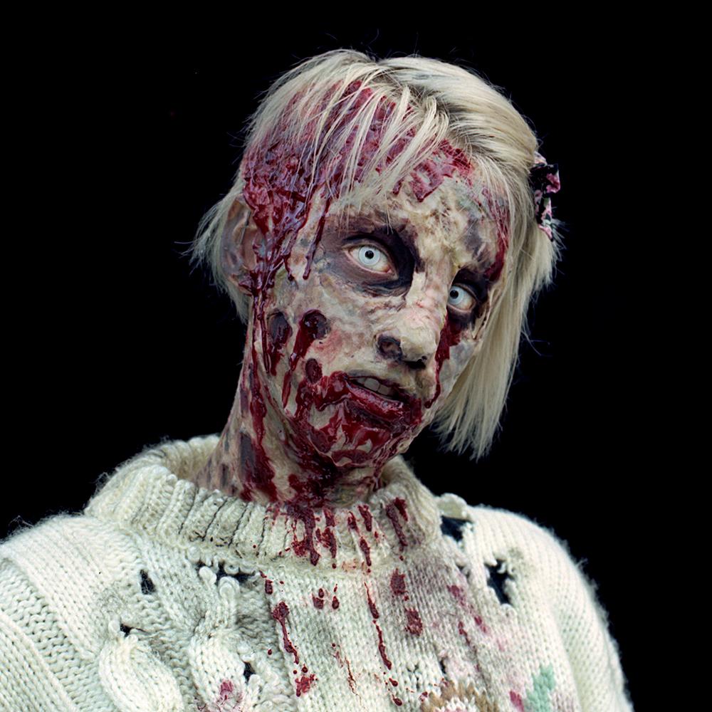 jll photographie simulacre portrait montreal zombie walk