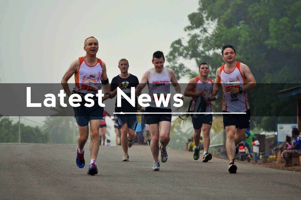 Click the image to read the Evening Standard article on this year's 5th Sierra Leone Marathon