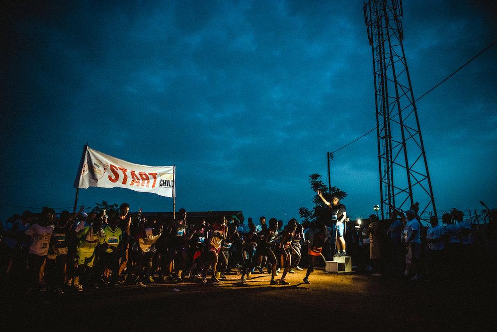 Sierra Leone Marathon - Chris Parkes