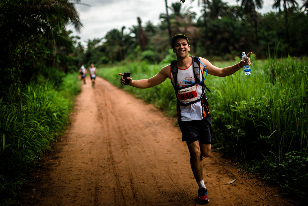 Sign up to our mailing list to register your interest for the Sierra Leone Marathon - the adventure of a lifetime