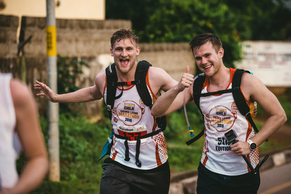 Engage your employees and colleagues with the ultimate challenge - the Sierra Leone Marathon
