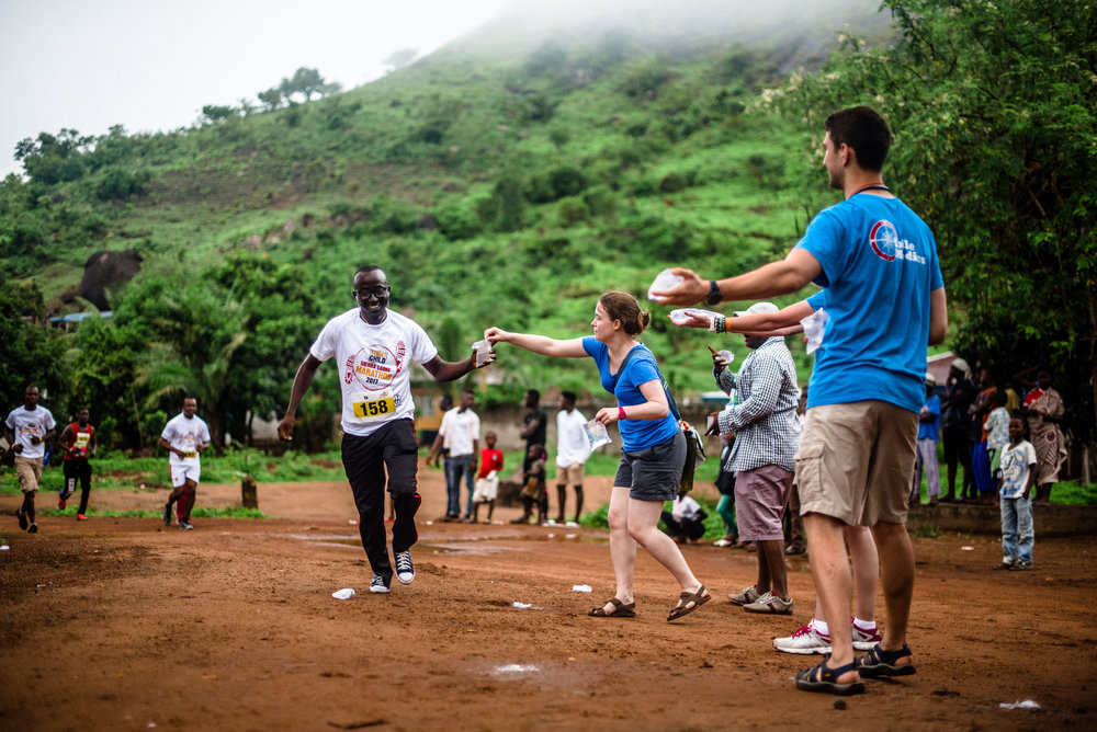 Volunteer or run at the Sierra Leone Marathon - one of the world's toughest races.