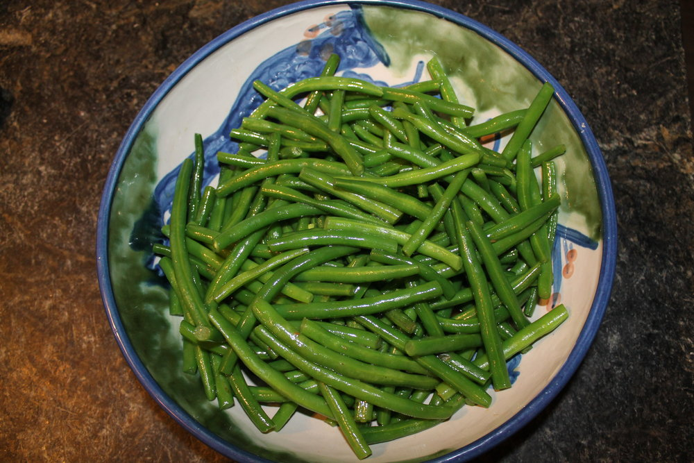 Garlic Green Beans!