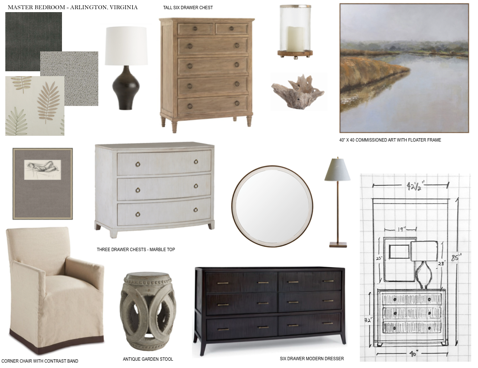 PATOUT MASTER BEDROOM CONCEPT BOARD