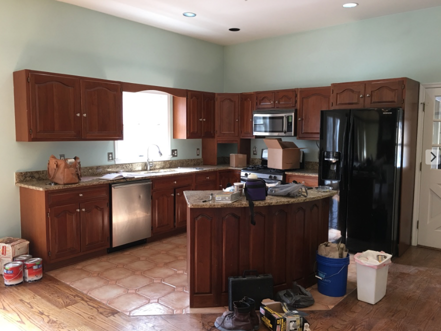 Before: Kitchen