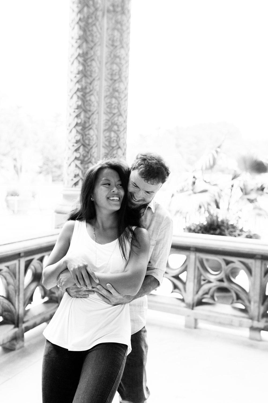 Engagement Session at the Biltmore Estate in Asheville, North Carolina.