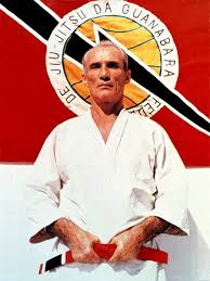 10th degree Grand Master, Helio Gracie: Youngest brother of Carlos Gracie Sr. Helio further contributed to create a variation of 'Gracie' Jiu Jitsu utilizing leverage to make it possible for a smaller or weaker individual to protect themselves and overcome the aggression of a larger and stronger opponent.