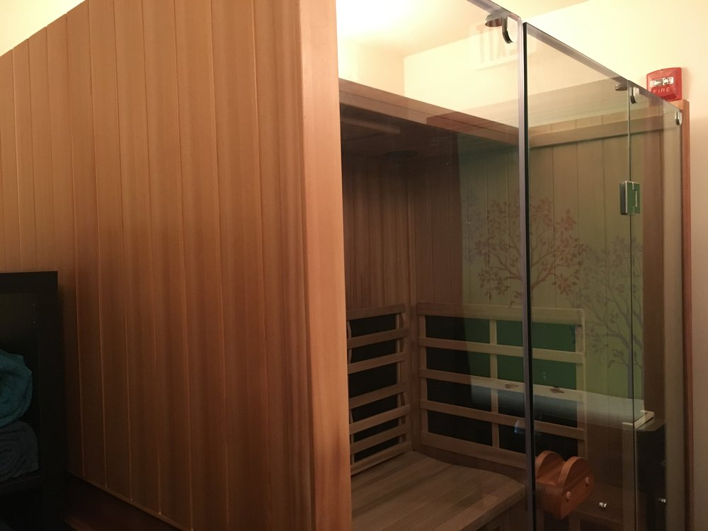 JOURNEYoga's Infrared Sauna