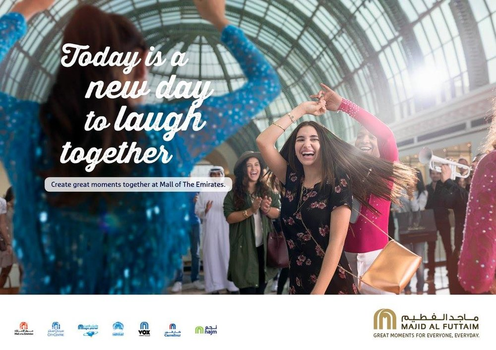Majid Al Futtaim Group   Agency - Nomads  Photographer -  Maurice Heesen