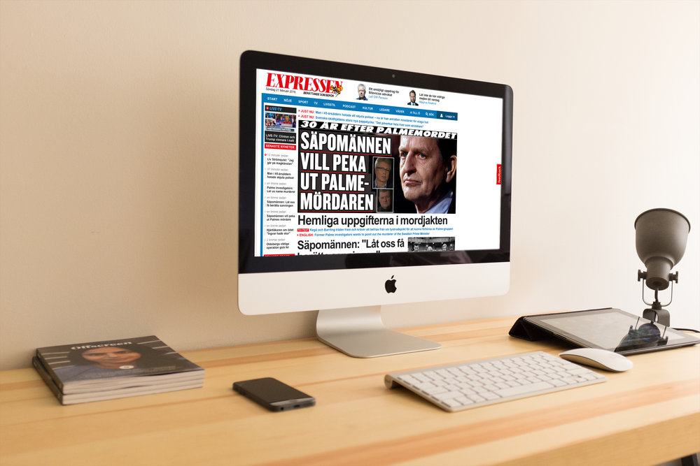 Ovan - UX Design och Digital Art Direction för Expressen