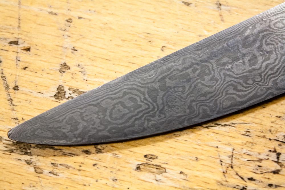 Damask kniv