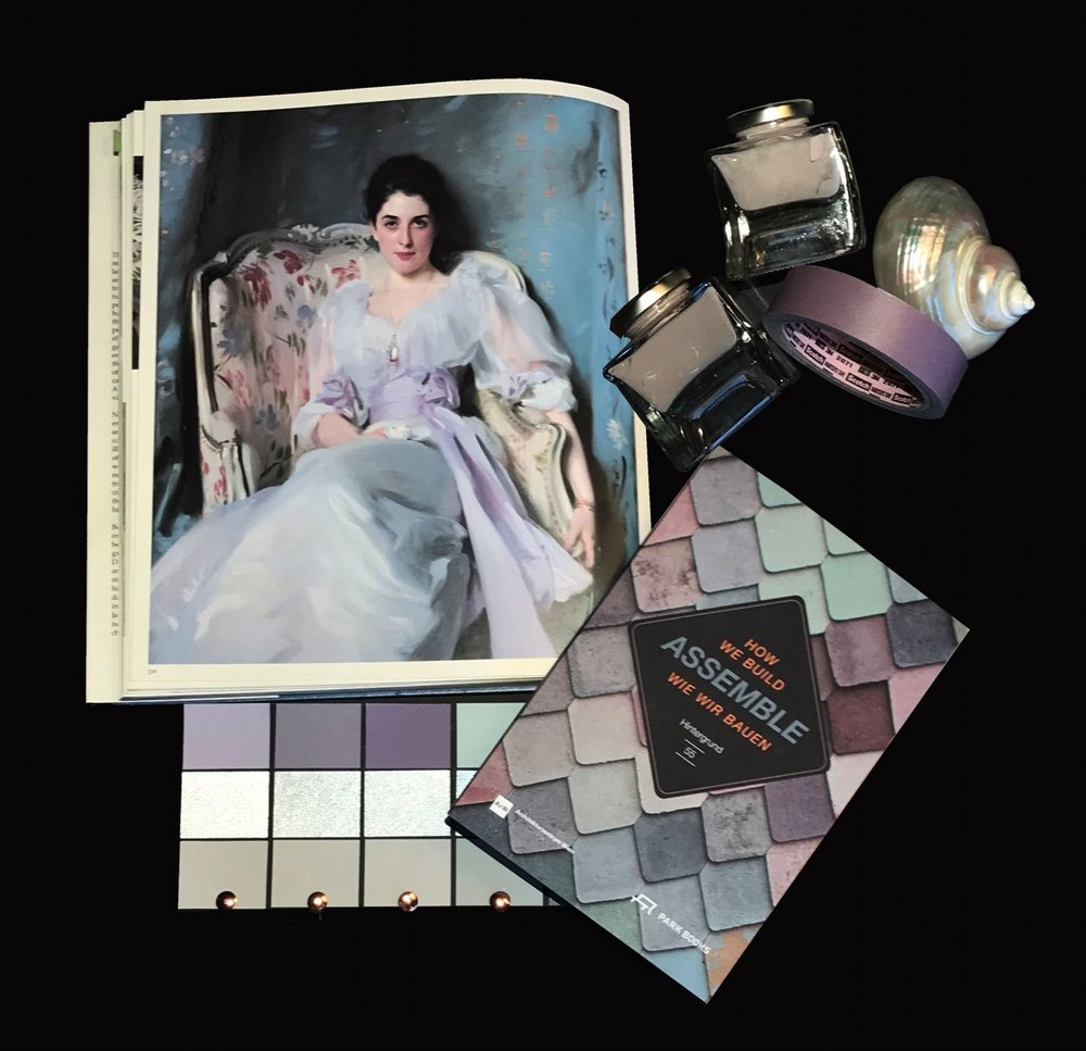 Color of the month - Februar - Pastel Lila
