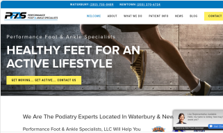 podiatrist website