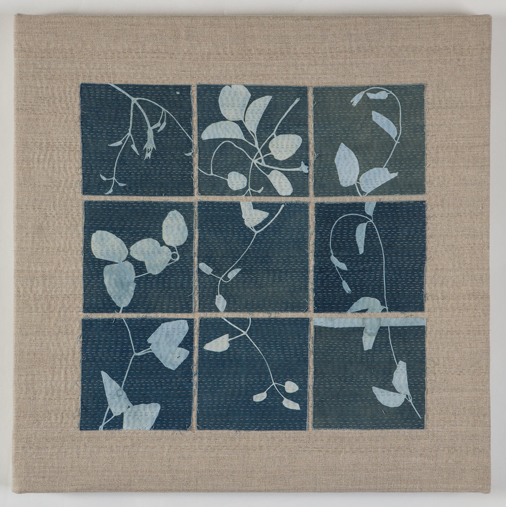 """Entanglement"" by Lotta Helleberg. Just one of the beautiful quilts featured in 2017's Phase I Exhibits."