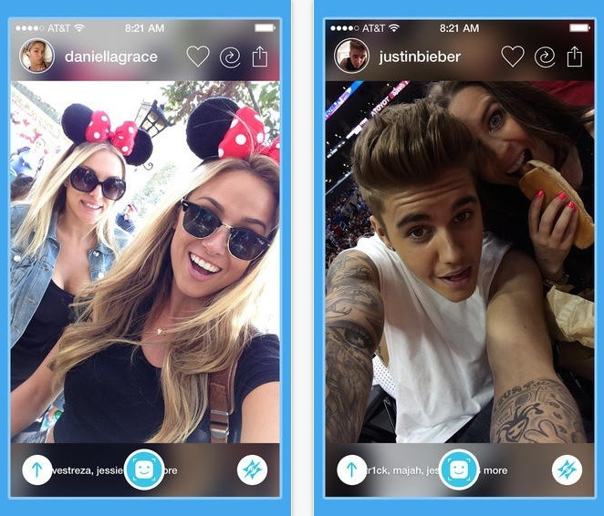Shot is a social network based around people taking images of themselves, known as selfies.
