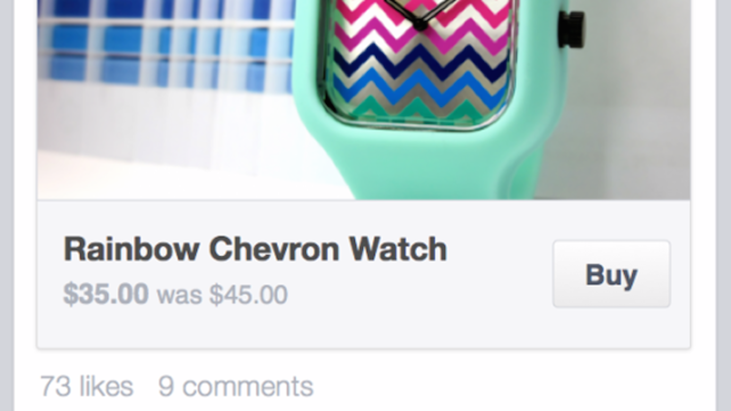 "Facebook is testing out a new ""Buy"" button, which will mark the rise of social commerce."