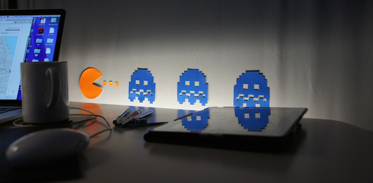 Pac-Man Haunting.