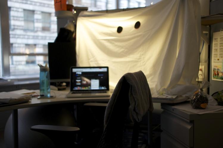 Spooky ghost.