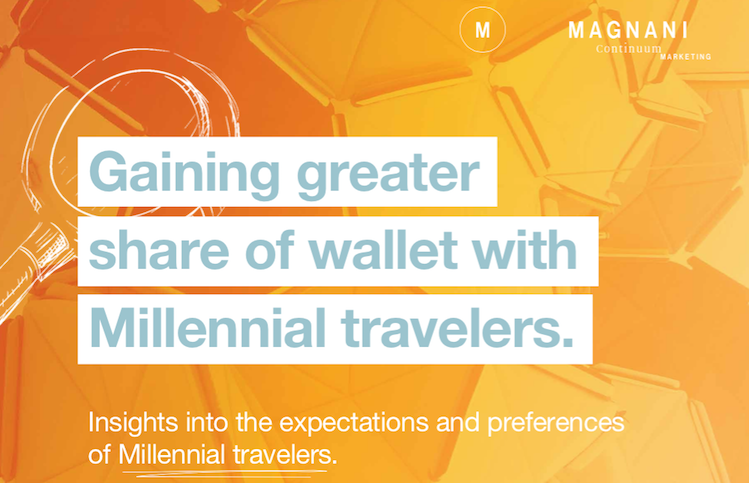 Millennials continue to grow in their spending power in the traveling, hospitality and tourism industries.