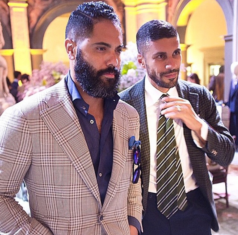 Myself and A|B Client and Close friend Khaled Nasr at The RAKE Magazine after party at The Four Seasons in Florence.